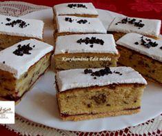 Ez a legporhanyósabb, legomlósabb linzer titka! Krispie Treats, Rice Krispies, Rice Recipes, Vanilla Cake, Tiramisu, Oreo, Food Photography, French Toast, Cooking