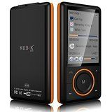 Kubik Evo 8GB MP3 Player with Radio and Expandable MicroSD/SDHC Slot - Black @ shopeverydayessentials.com
