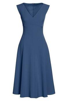 womens sleeveless dress from lands Dress Outfits, Casual Dresses, Short Dresses, Fashion Dresses, Summer Dresses, Formal Dresses, Sleeveless Dresses, Circle Skirt Dress, Dress Skirt