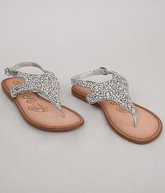 4b9a47b4c8dc0 Naughty Monkey Tinker Bella Sandal - Women s Shoes in Silver