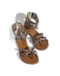 Fashionable gladiator sandals by Ziginy