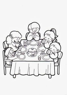 El Rincón de las Melli: Bendiciendo la mesa