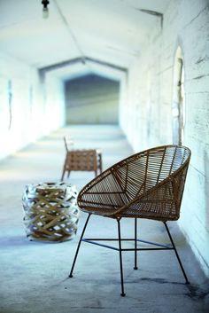 Junge Möbeldesigner entdecken den Bambus für sich. #bamboo #livingroom #furniture #home #homestory #interior #decoration