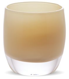 Wink (o - opaque) | glass votive candle holders | glass votives | glassy baby - September Color Club
