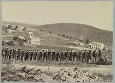 Company A, 22d New York State Militia near Harpers Ferry, Va. (i.e. West Virginia), 1861 [i.e.1862