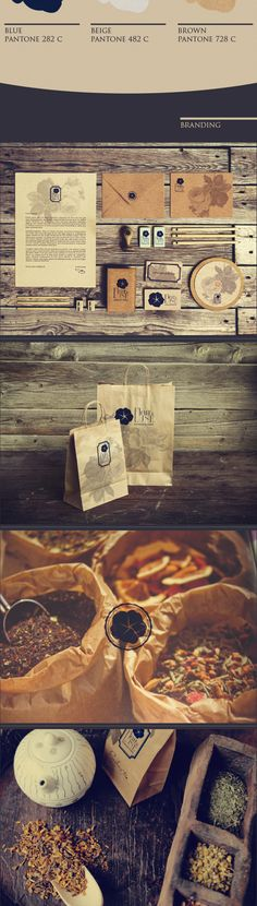 Fleur de Lune / Branding by Carla Sartori, via Behance #identity #packaging #branding PD