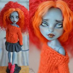 monsterhigh #ooak #meowlody #madambu #repaint