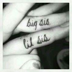 Big sis and lil sis