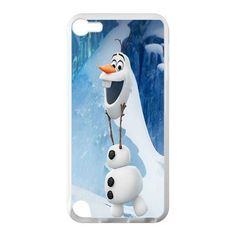Custom Frozen Disney 3D Movie Olaf Cute Snowman Hard Case for IPod Touch 5 TPU (Laser Technology):Amazon:Cell Phones & Accessories