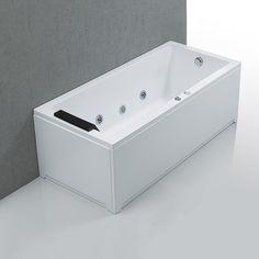 5795 kr. Massagebadkar Bathlife Ideal Rakt Vit