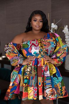 African Short Dresses for Women : Latest African Fashion Styles 2020 Latest Ankara Short Gown, Short African Dresses, Ankara Short Gown Styles, Ankara Styles For Women, Latest African Fashion Dresses, Short Dresses, African Clothes, African Attire, African Wear