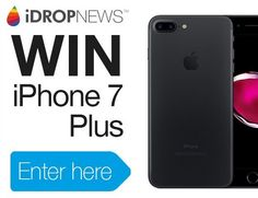 Win Free iPhone 7 Plus Giveaway Iphone 7 Plus, Get Free Iphone, New Iphone, Apple Iphone, Apple Information, Win Phone, Free Iphone Giveaway, Oppo Mobile, Free Printable Cards