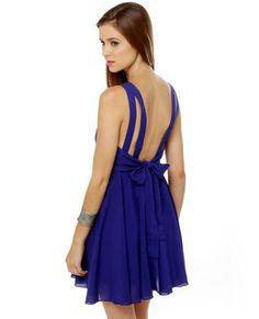 blue fashion style moda clothes wear picture image dress http://www.womans-heaven.com/blue-dress-12/