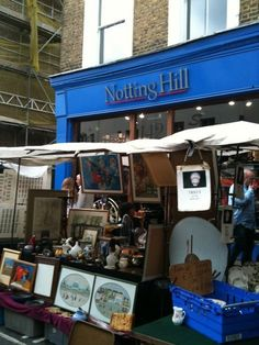 Notting Hill. Antiques, Art and if you are lucky a sighting of Julia Roberts :)