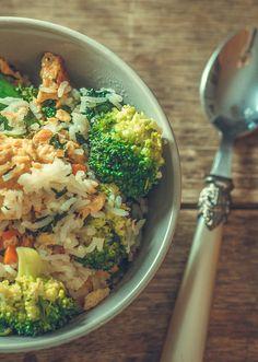Gebratener Reis mit Gemüse | www.reisehappen.de