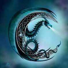 Crescent Moon Dragon. Author:?