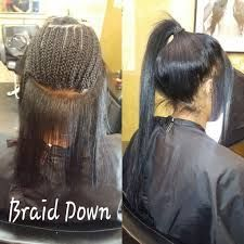 Versatile Sew-In Ponytail Sew In Ponytail, Sew In Braids, Crochet Braids, Sew In Hairstyles, Braided Hairstyles, Winter Hairstyles, Curly Hair Styles, Natural Hair Styles, Birthday Hair