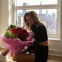 Pin for Later: Josephine Skriver Officially Got Her Wings —and the Victoria's Secret Angels Are So Proud