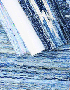 Scandinavian rag rugs and hallway runners from Skandihome, home of Swedish and Scandinavian rugs and gifts Scandinavian Rugs, Etched Glassware, Rag Rugs, Hallway Runner, Interior Inspiration, Runners, Favorite Color, Blues, Delicate