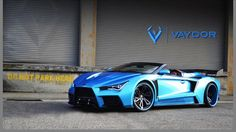 Introducing the Suicide Squad jokers new car – The Vaydor