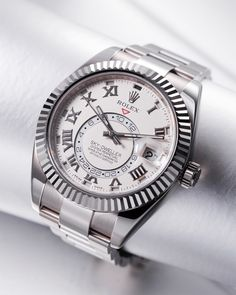 Primetime: Rolex Sky-Dweller - I'm not necessarily a Rolex fan but this one is nice.