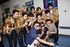 EXO - 150602 SMTown NOW update Credit: SMTown NOW.