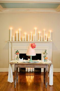 pink peony cake | Kristyn Hogan #wedding