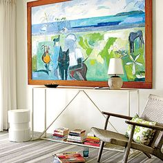 Living Room | A secluded home on Vieques Island, Puerto Rico, becomes a designer's labor of love—and ultimate vacation keepsake.By Marisa Spyker