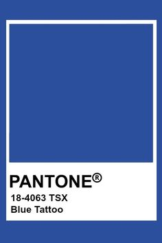 This color of blue is pretty saturated. It has some dark to it, but still appears pretty bright. Azul Pantone, Paleta Pantone, Pantone Blue, Pantone Swatches, Pantone Colour Palettes, Color Swatches, Pantone Color, Colour Pallete, Colour Schemes
