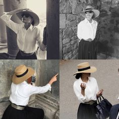 Queen in a hat. Sheikha Mozah looked absolutely chic and fabulous during her visit to Yerevan Armenia in May.