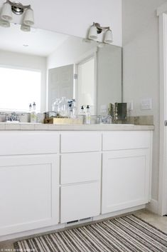 If you only have a small budget for a bathroom makeover