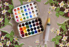 Watercolor Palette | The Postman's Knock