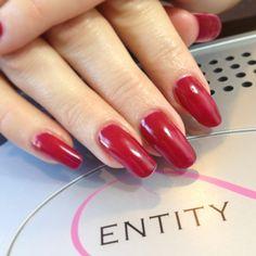 #eocc #natrualnails #red #entitybeauty