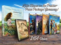 Little House on the Prairie - Prize Package Giveaway - Pinnable Image | TrayerWilderness.com