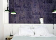 Inspiration: papier peint trompe l'oeil ou effet matière - Marie Claire Maison