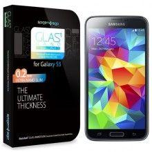 Film Protection Ecran Samsung Galaxy S5 Spigen SGP Glass Glas.t Nano SLIM Slim 31,99 €