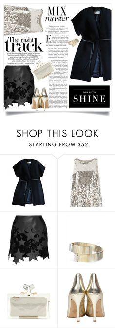 """""""Untitled #2906"""" by kristina-biskup ❤ liked on Polyvore featuring moda, Yves Saint Laurent, Dorothy Perkins, Anthony Vaccarello, Libertine, Levi's, Jaeger y Charlotte Olympia"""