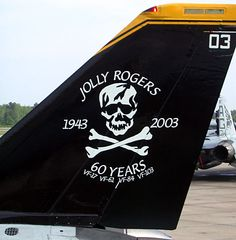 Jolly Rogers Tomcats | Details about VF-103 JOLLY ROGERS F-14 TOMCAT US NAVY PATCH USS SKULL