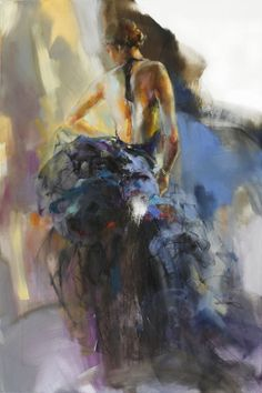 anna razumovskaya - Romantic Paintings by Anna Razumovskaya Romantic Paintings, Beautiful Paintings, Figure Painting, Painting & Drawing, Painting Abstract, Art Triste, Anna Razumovskaya, Anime Comics, Figurative Art