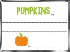 Halloween: Pumpkins are....