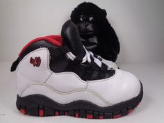 001cc528293 Nike Air Jordan 10 X Retro Double Nickel Basketball Shoes Toddlers Size 8C  US  Nike