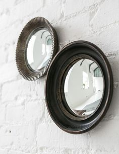 Rose & Grey. (n.d.). Small Convex Mirrors. [Online]. Available from: http://www.roseandgrey.co.uk/small-convex-mirrors [Accessed: 17 May 2014] £32 and £35; Porthole: Diameter 26.5cm Ripple: Diameter 23cm