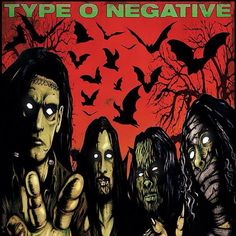 Type o Negative Type O Negative Band, Goth Music, Peter Steele, Wolf Moon, Music Mix, Green Man, Find Picture, Metalhead, Concert Posters