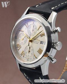 Breitling Grand Premier, Referenznummer: A13024.1, Herrenuhr, Chronograph, Gehäusematerial: Stahl (4414) -- www.uhren-wellmann.de --