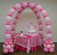Check out this item in my Etsy shop https://www.etsy.com/listing/238934536/princess-arch-baby-shower-first-birth