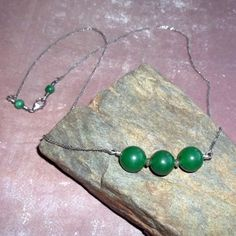 Emerald Green Jade Necklace