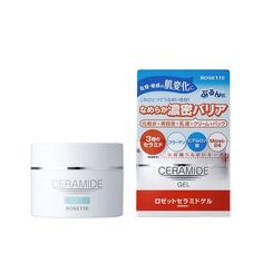 Rosette Ceramide Gel is a multifunctional gel that acts as 5 products and contains plenty of ceramide and other hydrating ingredients. This multifunctional gel provides five basic skincare elements: lotion, beauty serum, emulsion, cream, and mask. E 38, Dermalogica, Alcohol Free, Korean Skincare, Multifunctional, Rosettes, Lotion, Moisturizer, Skin Care