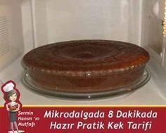 Mikrodalga Kek Tarifi. nasıl yapılır? Pratik Mikrodalga Kek Tarifi. tarifi resimli anlatımı ve nefis