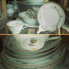 Another gorgeous set of #china currently available: Vintage #Noritake #Barton with 12 dinner plates 10 salad plates 10 bread plates 8 saucers 6 cups and 1 serving platter. Only $99.75!     #buylocal #shoplocal #thriftstore #thriftshop #hopewellva #petersburgva #colonialheights #chesterfield #rva #804 #summer #shopping #whybuynew #charityshop #china #bonechina #plates #dinnerparty #elegantdining #vintagechina #cups #saucers #retrochina #teaparty