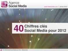 40 chiffres sur les médias sociaux pour 2012